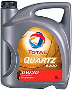 Моторное масло Total Quartz 9000 0W30 / 209314 / 214297 (5л) -