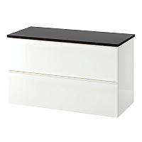 Шкаф для ванной Ikea Годморгон/Толкен 192.954.98 -