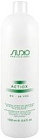 Эмульсия для окисления краски Kapous ActiOx Studio Professional экст. женьшеня и рис.прот 6% (1л) -