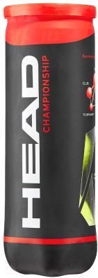 Набор теннисных мячей Head Championship 3B / 575301/575203 (3шт)