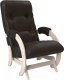 Кресло-глайдер Импэкс 68 (дуб шампань/Dundi 108) -