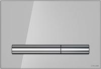 Кнопка для инсталляции Cersanit Pilot P-BU-PIL/Grg/Gl (стекло/серый глянцевый) -