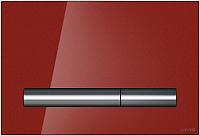 Кнопка для инсталляции Cersanit Pilot P-BU-PIL/Rdg/Gl (стекло/красный глянцевый) -