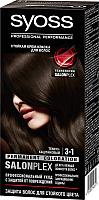 Крем-краска для волос Syoss Salonplex Permanent Coloration 3-1 (темно-каштановый) -