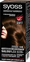 Крем-краска для волос Syoss Salonplex Permanent Coloration 4-8 (каштановый шоколадный) -
