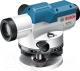 Оптический нивелир Bosch GOL 20D со штативом BT160 и рейкой GR500 (0.601.068.402) -