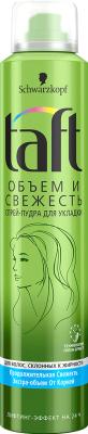 Спрей для укладки волос Taft Объем и свежесть