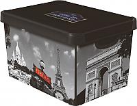 Контейнер для хранения Curver Deco Stockholm S 04710-P35-00 / 205491 (париж) -