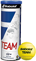 Набор теннисных мячей Babolat Team 3B (3шт, желтый) -