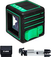 Лазерный уровень ADA Instruments Cube 3D Green Professional Edition / A00545 -