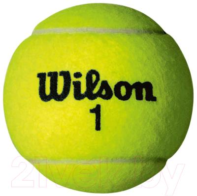Набор теннисных мячей Wilson Championship / WRT110000 (4шт)