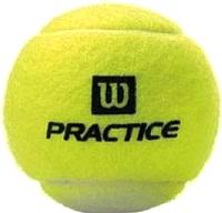 Набор теннисных мячей Wilson Tour Practice / WRT114500 (4шт) -