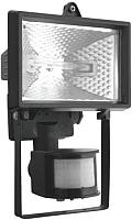 Прожектор NeoLine ИО 500Д IP44 95110 с детектором (черный) -