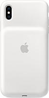 Чехол-зарядка Apple Smart Battery Case для iPhone XS White / MRXL2 -