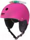 Шлем горнолыжный Wipeout Neon Pink 5+ зимний с фломастерами (розовый) -