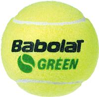 Набор теннисных мячей Babolat Green / 501066 (3шт, желтый/зеленый) -