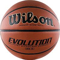 Баскетбольный мяч Wilson Evolution / WTB0586 (размер 6) -