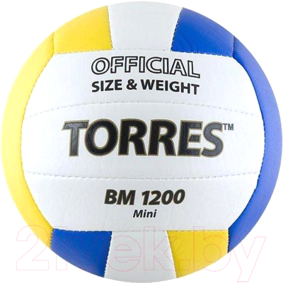 Мяч волейбольный Torres BM1200 Mini / V30031