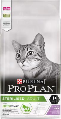 Корм для кошек Pro Plan Sterilised с индейкой (10кг)