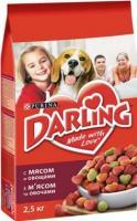 Корм для собак Darling С мясом и овощами (2.5кг) -