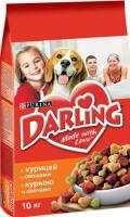 Корм для собак Darling С курицей и овощами (10кг) -