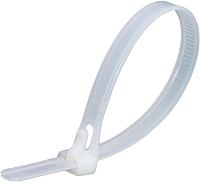 Стяжка для кабеля Fortisflex КСР 56183 (100шт, белый) -