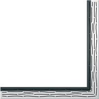 Решетка для трапа TECE Drainline Organic 611560 -