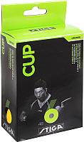 Мячи для настольного тенниса STIGA Cup ABS (6шт, оранжевый) -