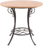 Стол садовый AMC 21 (1) (80) (темно-коричневый) -