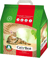 Наполнитель для туалета Cat's Best Original (12л) -
