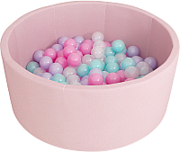 Игровой сухой бассейн Romana Airpool ДМФ-МК-02.53.01 (150 шариков, розовый) -