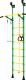 Детский спортивный комплекс Romana Распорный с регулировкой ДСКМ-2-7.06.Г6.410.14-24 (зеленый/желтый) -