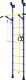 Детский спортивный комплекс Romana Распорный с регулировкой ДСКМ-2-7.06.Г6.410.14-24 (синий/желтый) -