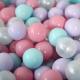 Шары для сухого бассейна Romana ДМФ-ЭЛК-20.00.01 (150шт, розовый/мятный/жемчужный/сиреневый) -
