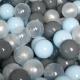 Шары для сухого бассейна Romana ДМФ-ЭЛК-20.00.01 (150шт, голубой/серый/жемчужный/прозрачный) -