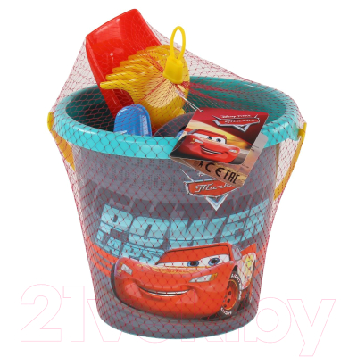 Набор игрушек для песочницы Полесье Disney/Pixar Тачки №25 / 67258