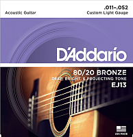 Струны для акустической гитары D'Addario EJ13 -