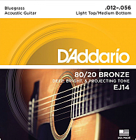 Струны для акустической гитары D'Addario EJ14 -