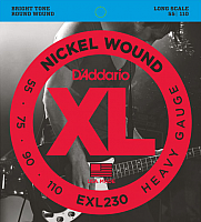 Струны для бас-гитары D'Addario EXL230 -