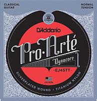 Струны для классической гитары D'Addario EJ45 TT -