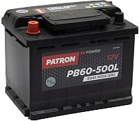 Автомобильный аккумулятор Patron Power PB60-500L (60 А/ч) -