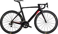 Велосипед Wilier 110Air Ultegra 8000 Aksium / W704UBlack (XL, черный/красный) -