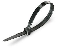 Стяжка для кабеля Fortisflex КСС 50286 (100шт, черный) -
