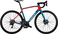 Велосипед Wilier 110NDR Disc Ultegra Aksium Disc / E906DUBLURED (M, синий/красный) -