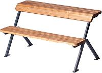 Скамья-стол садовая Punto Group Domino-1 PG10077100 (цинк/сосна) -