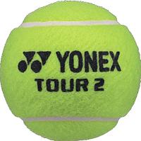 Набор теннисных мячей Yonex Tour Tennis Ball (4шт) -