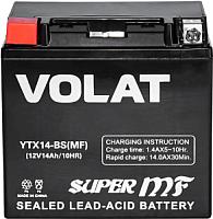 Мотоаккумулятор VOLAT YTX14-BS MF L+ (14 А/ч) -