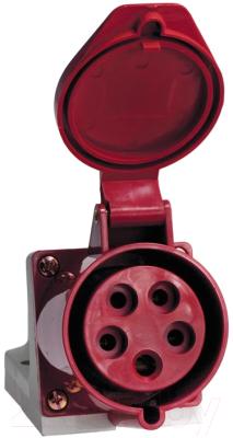 Розетка кабельная КС 115 16А YHT 84504