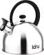 Чайник со свистком Lara LR00-65 (матовый) -