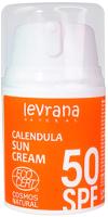 Крем солнцезащитный Levrana Календула SPF50 (50мл) -